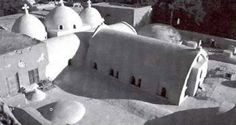 Monastery of al-Baramus (Deir al-Baramus, Monastery of the Romans) At Wadi al-Natrun in Egypt Virgin Mary, Romans, Egypt, Saints, History, Geo, Exterior, Egyptian, Pintura