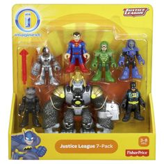 Fisher-Price Imaginext Justice League 7-pack Action Figures