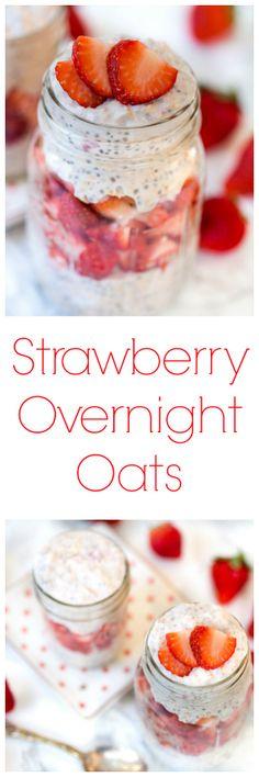 Strawberry Overnight Oats