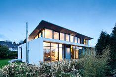 C1 House in Karlsruhe, a city in the state of Baden-Württemberg, in southwest Germany by Dettling Architekten