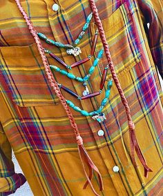 Southwestern Statement Necklace Native American Breastplate