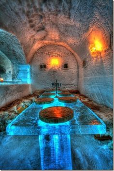 The 100 Most Beautiful and Breathtaking Places in the World in Pictures; Ice hotel at Sorrisniva, Alta, Norway Places To Travel, Places To See, Travel Destinations, Travel Things, Travel Stuff, Dream Vacations, Vacation Spots, Alta Norway, Places Around The World