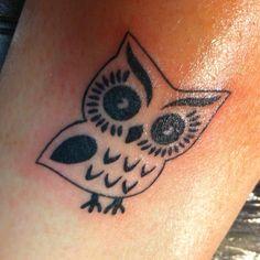My Owl Tattoo <3