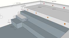 Swimming Pool Plan, Swimming Pool Landscaping, Swimming Pool Designs, Piscina Diy, Overflow Pool, Piscina Rectangular, Pool House Decor, Natural Swimming Ponds, Small Pool Design