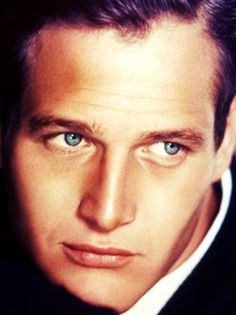 Paul Newman and those beautiful blue eyes.
