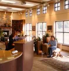 Pet Crossing Animal Hospital and Dental Clinic - Veterinary Economics Magazine Design Merit Award Winner 2004 - Architect: Animal Arts Design Studios