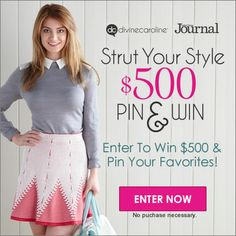 We've rounded up the hottest spring trends of 2014 to keep you looking divine. Show off your style by pinning the look that inspires you the most and enter to win $500! Entry form and details here: divinecaroline.com/strut-your-style