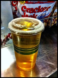 They serve beer in a sippy cup at the Rogers Centre in Toronto...