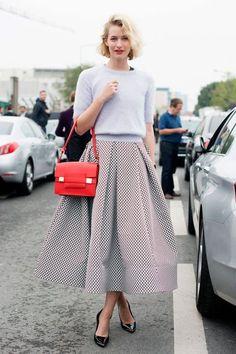 full a line skirt