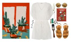 """""""chamakay"""" by celluloid ❤ liked on Polyvore featuring Oasis, H&M, vintage, VintageInspired and kaftan"""
