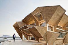 Endesa Pavilion by IaaC (Barcelona, Spain)