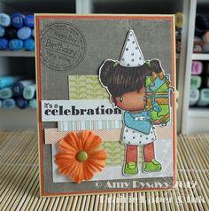 Birthday Card 2 of AmyR's 2012 Birthday Card Series - Prairie Paper & Ink