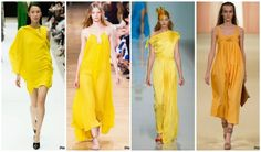 yellow dresses Spring-Summer 2015