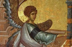 Orthodox Icons, Byzantine, Projects To Try, Objects, Wings, Fairy, Base, Statue, Painting