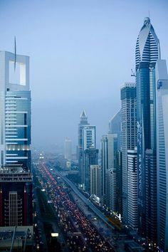 Sheikh Zayed Road - dubai