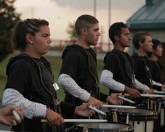Nicole Casino 'Snares' Historic Role with Top-ranked Blue Devils Drum Corps - girls rock.