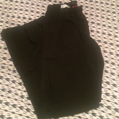 "Size XS black scrub pants! Black scrub pants, used but good condition. Brand is ""urbane"", Drawstring, size XS. Pants"
