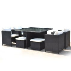 New Style Rattan Garden Furniture Outdoor Patio 9 Piece Cube Set With Glass Table and Wine Opener by VR DIRECT, http://www.amazon.co.uk/dp/B007NXJSEG/ref=cm_sw_r_pi_dp_zBOLsb0WHW0RA