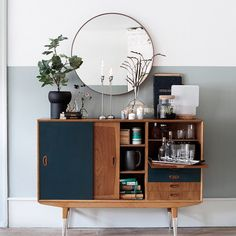 SEE ALL   8 OF 16 A credenza may not be at the top of our list of must-have furnishings for a small space, but there's no denying their practicality. Opt for one that features a multitude of drawers and cabinets, as opposed to one that's uniform all around. This will allow for a more diverse slew of storage capabilities. Modern Buffet/Media Console, Pecan/White $639 Oryx Mirror $327.99 Pair of Knitting Candlesticks $85.99 Wire Pot $44.99 Jars Tourron Celeste Pitcher