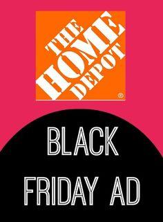 Home Depot Black Friday Sale 2013