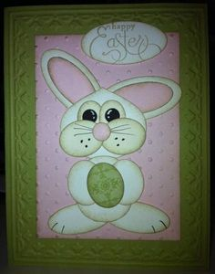 Bunny Punch Easter by jsassy72 - Cards and Paper Crafts at Splitcoaststampers