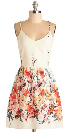 Calling All Wildflowers Dress