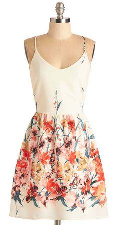 Calling All Wildflowers Dress