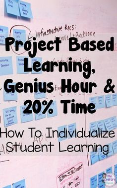 How do you individualize instruction in your classroom and allow students to pursue their interests? Middle school and high school English Language Arts teachers discussed the types of individualized learning they use in their classroom: project based lea Problem Based Learning, Inquiry Based Learning, Project Based Learning, Early Learning, Middle School Classroom, Middle School Science, Middle School Quotes, Teaching Strategies, Teaching Tips