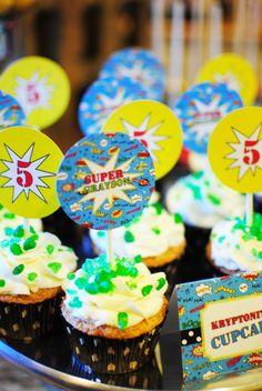 Super Hero Birthday Party |