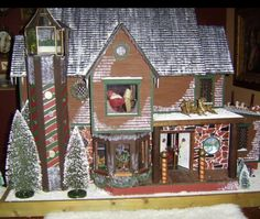 Dollhouse Santa's Workshop