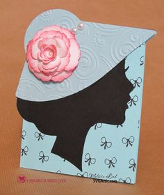 Who is that lady? -With Melissa- I-Team Handmade Greetings, Greeting Cards Handmade, Dress Card, Mothers Day Crafts, Handmade Birthday Cards, Diy Cards, Homemade Cards, Paper Flowers, Wedding Cards