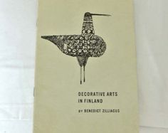 Decorative arts in Finland by Benedict Zilliacus