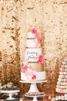 Gorgeous Wedding Cake and more from S'more Sweets ~ we ♥ this! moncheribridals.com  #weddingcakes