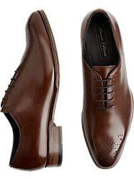 46d0ea2f5bf5 Baywood Brown Lace Up Dress Shoes - Men s Dress Shoes - Joseph Abboud
