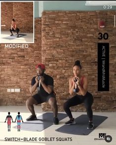 Fitness Workouts, Hiit Workout At Home, Gym Workout Videos, Fitness Workout For Women, Sport Fitness, Butt Workout, Fitness Motivation, Physical Fitness, Excercise
