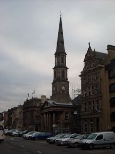 St Andrews  St Georges Church, George Street, Edinburgh scottish-churches