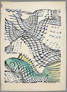 fish paintings by walter anderson - Google Search