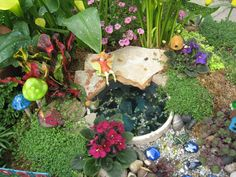 Fairy Gardens You Can Make Yourself