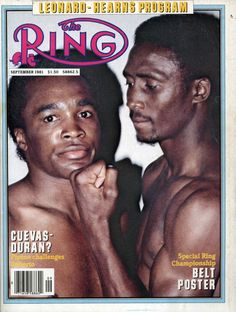 the ring magazine sugar ray leonard v. Dodgers, Boxing Images, Boxing Posters, Sports Illustrated Covers, Boxing History, Boxing Champions, Vintage Black Glamour, Sports Magazine, Sport Icon