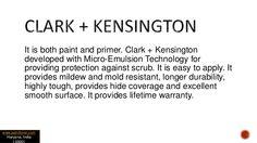 Clark + Kensington Bathroom Paint