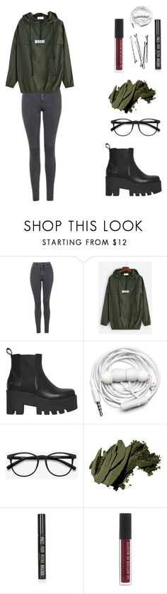 """""""#24"""" by sashaafonina ❤ liked on Polyvore featuring Topshop, Windsor Smith, Urbanears and Bobbi Brown Cosmetics"""