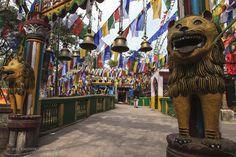 Mahakal Temple Worship Lord Brahma, Vishnu and Mahesh...Buddhist Holy Scriptures #mahakal #temple #buddha #brahma #vishnu #mahesh #Darjeeling #India #HolidayPlans