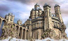 Ten fantasy castles Fantasy castle Fantasy city Fantasy landscape