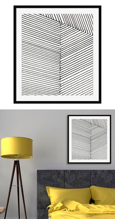 A little goes a long way. With its three sequestered, striped sectors, this Linear Divergence Wall Art features a monochromatic design that is wonderfully enthralling and yet not overpowering. This chi...  Find the Linear Divergence Wall Art, as seen in the #Mid-Century Monochrome Collection at http://dotandbo.com/collections/mid-century-monochrome?utm_source=pinterest&utm_medium=organic&db_sku=127985