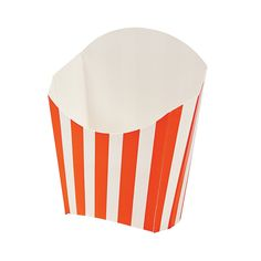 Orange Striped Fry Containers - OrientalTrading.com