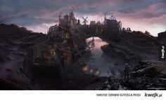Grafiki koncepcyjne do gry Skyrim autorstwa Raya Lederera