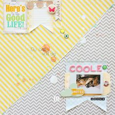 I {lowe} SCRAP :: LET it GO & VIVID by Janna Werner
