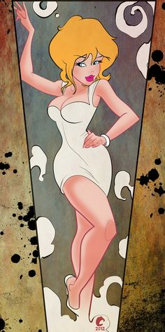 "Holli Would ""Cool World"" (via Joshua Covey: Pin Up and Cartoon Girls)"