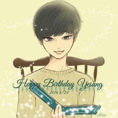 SaengilCukhae Yesung oppa  love you more  #Happy33thYesung #HappyYesungDay #HappyKingofSelcaDay #HappyBirthdayYesung #HappyKimJongWoonDay  #Yesung #SuperJunior #KRY