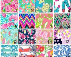 Lily Pulitzer Inspired 8 1/2 by 11 Vinyl Sheets - Edit Listing - Etsy